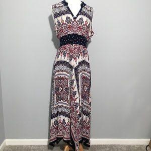 Boho Maxi Dress by Bila Size L